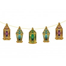 Hanging Display  - 5pc LARGE Ramadan Lanterns