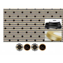 Gift Wrapping Set - Eid Mubarak - Chevron