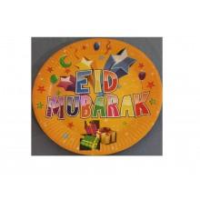 Paper Plates - Eid Mubarak (Pk of 10)