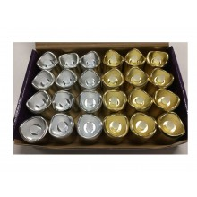 RAMADAN - CANDLES - GOLD/SILVER - LARGE