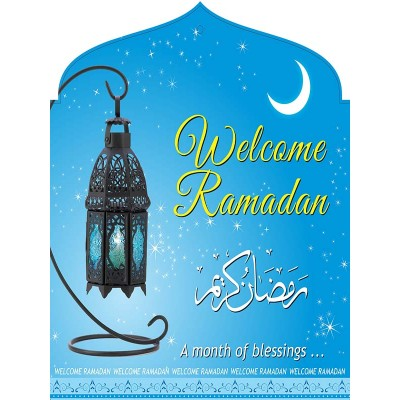 Hanging Banner Welcome Ramadan