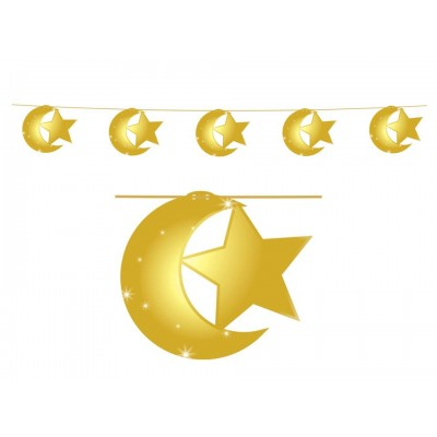 Hanging Display - Moon & Stars