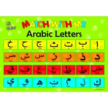 Arabic Letters Poster (with Transliteration)