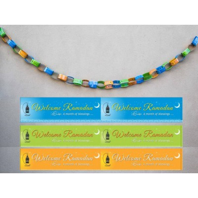 Paper Chains - Welcome Ramadan