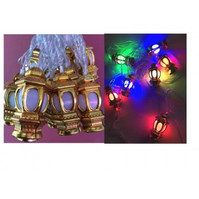 Lights - Ramadan Lanterns - Gold