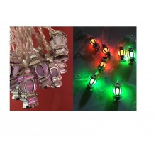 Lights - Ramadan Lanterns - Silver