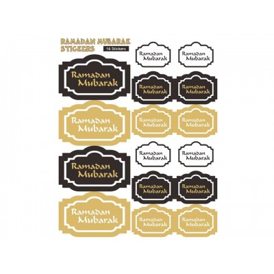 Ramadan Mubarak - Stickers - LARGE - 32